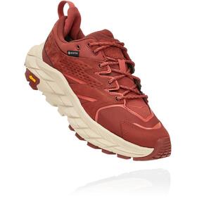 Hoka One One Anacapa GTX Low Shoes Women, rojo
